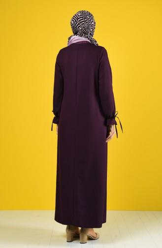 Purple Abaya 0272-03