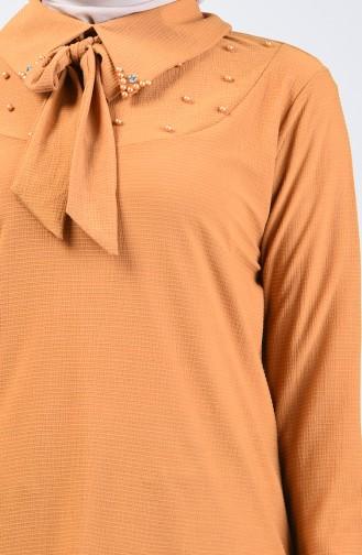 قميص أصفر خردل 1601-02