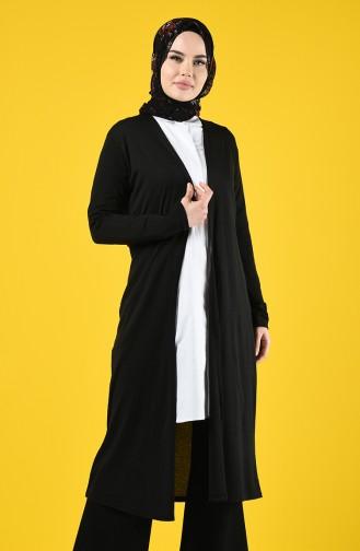 Black Cardigan 1272-01