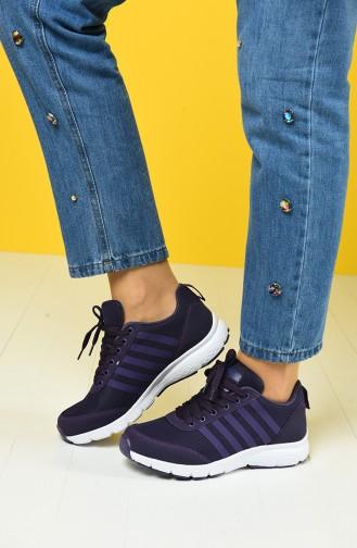 Purple Sport Shoes 6237Y-07