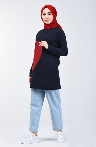 Navy Blue Sweatshirt 3153-04