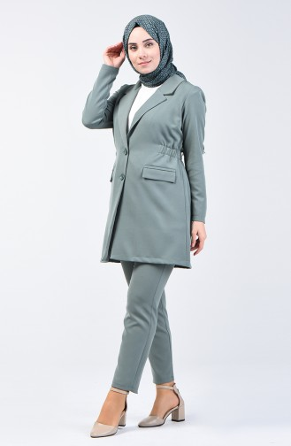 Jacket Trousers Double Suit 5536-07 Almond Green 5536-07
