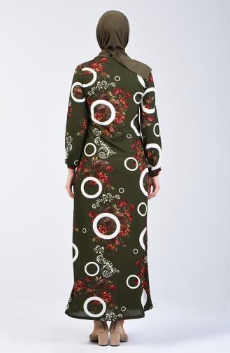 Khaki Dress 8864-02