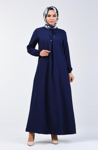 فستان أزرق كحلي 1373-05