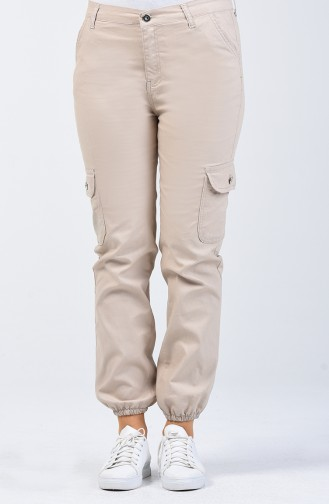 Pantalon Beige 7506-03
