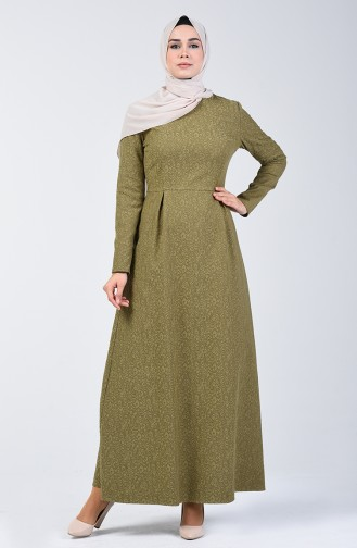 Khaki Dress 3156-03