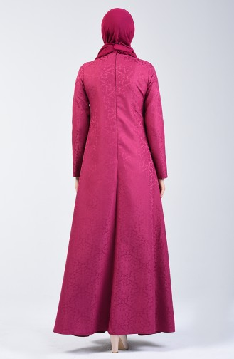 Fuchsia İslamitische Jurk 3160-05