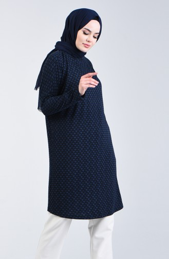 Bat Sleeve Seasonal Tunic 8015-01 Navy Blue 8015-01