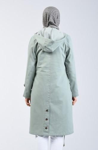 Hooded Sports Coat 6089-06 Almond Green 6089-06
