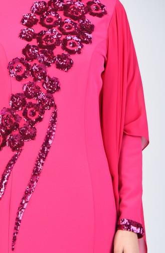 Abendkleid mit Umhang 6Y4634100-01 Fuchsia 6Y4634100-01