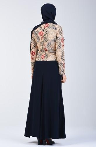 Stony Evening Dress 6y4636400-01 Navy Blue 6Y4636400-01