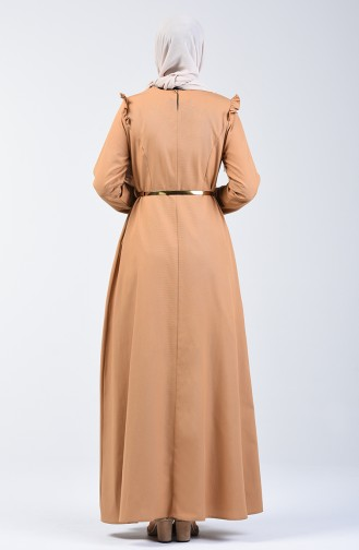 Robe à Froufrous 2555-06 Moutarde 2555-06