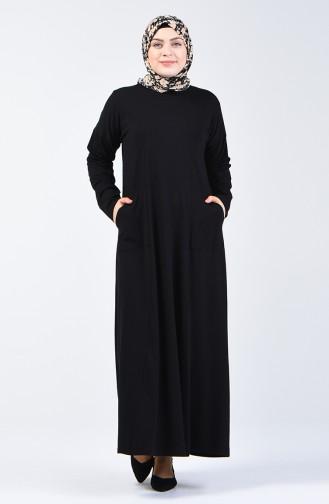 Black İslamitische Jurk 201447-01
