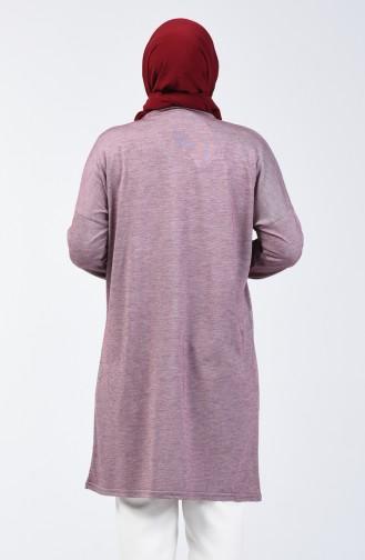 Bat Sleeve Tunic 1278-01 Claret Red 1278-01