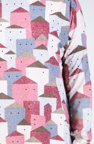 Bat Sleeve Tunic 1281-01 Rose Dry 1281-01