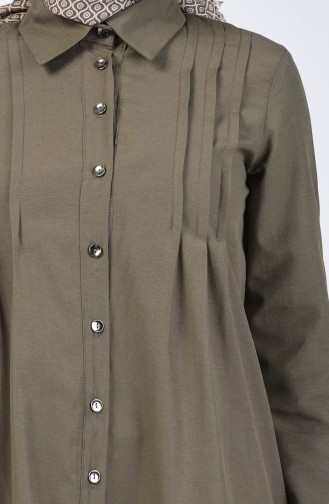 Ribbed Tunic 3167-05 Khaki 3167-05