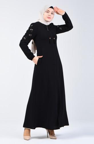 Black Abaya 3000-01