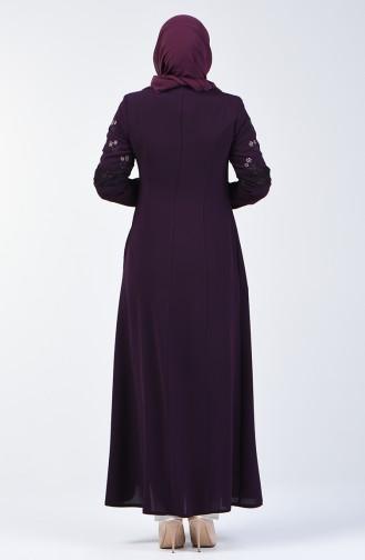 Purple Abaya 3000-02