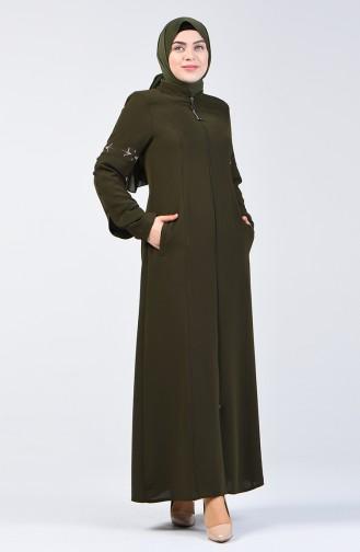 Khaki Abaya 3003-06