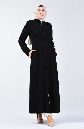 Black Abaya 3007-04