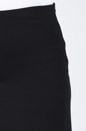 Straight Pencil Skirt 1980-01 Black 1980-01