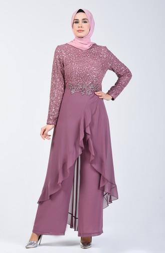 Habillé Hijab Rose Pâle 52767-01