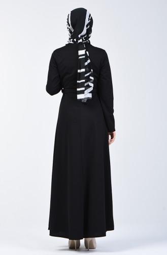 Black İslamitische Jurk 1404-02