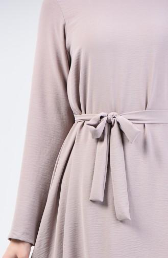 Aeroben Fabric Belted Tunic 0047-08 Rock 0047-08