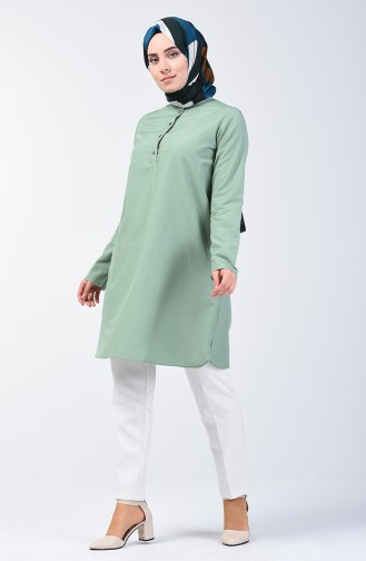 Buttoned Tunic 3168-05 Green 3168-05