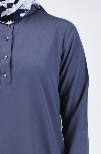 Buttoned Tunic 3168-08 Smoked 3168-08