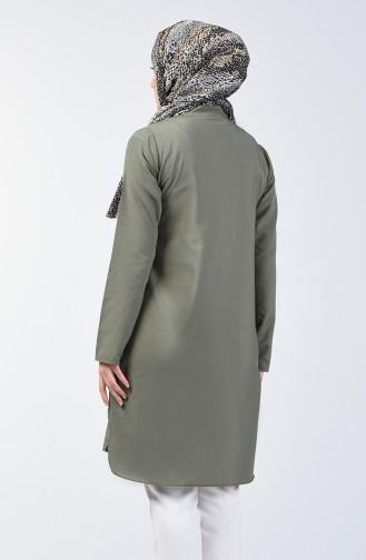 Buttoned Tunic 3168-10 Khaki 3168-10