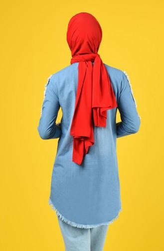 قميص أزرق جينز 3014-01