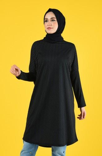 Bat Sleeve Tunic 8016-01 Black 8016-01