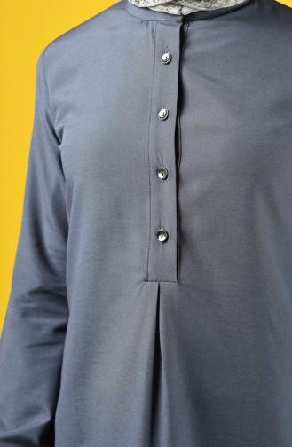 Buttoned Tunic 3165-01 Smoked 3165-01