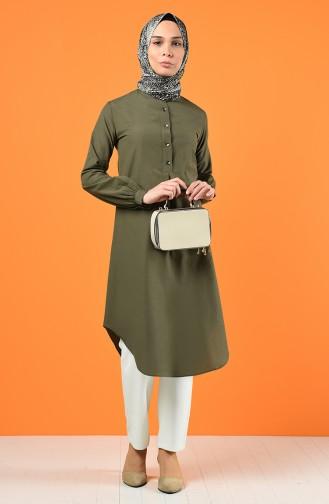 Buttoned Tunic 3165-05 Khaki 3165-05