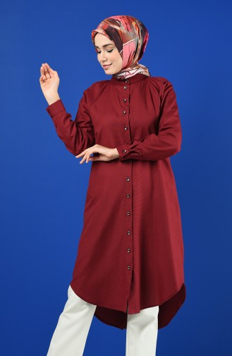 Claret red Tuniek 3166-11