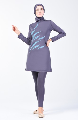 Light Black Swimsuit Hijab 28003