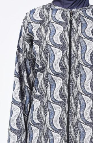 Navy Blue Swimsuit Hijab 28071