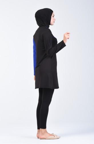 Black Swimsuit Hijab 28100