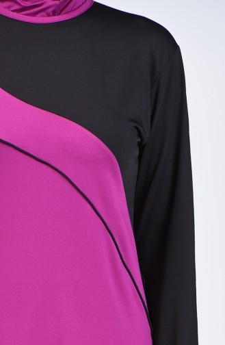 Black Swimsuit Hijab 28103
