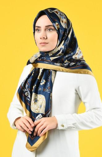 Ottoman Rayon Eşarp 70154-08 Lacivert