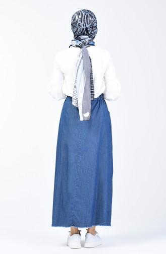 Navy Blue Skirt 0006-01