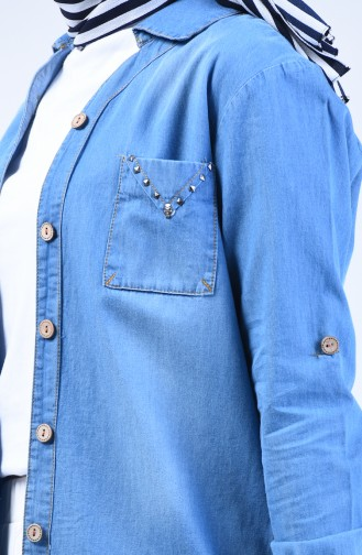 Chemise Bleu Jean 3013-01