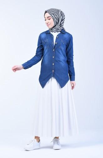 Chemise Bleu Marine 3013-02