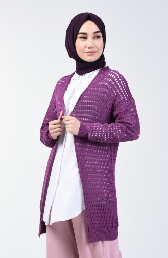 Seasonal Sweater 0750-04 Purple 0750-04