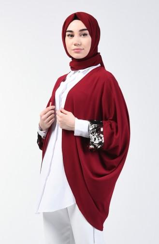 Claret red Vest 11465-02