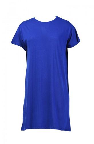 Basic Uzun Tshirt 8131-04 Saks