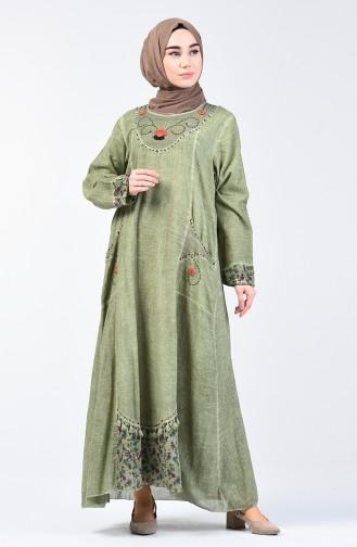 Kleid 9090-03 Khaki 9090-03