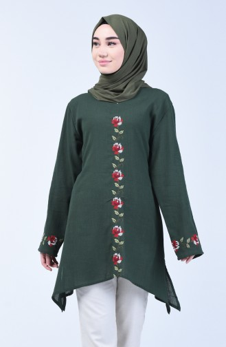 Dark Green Tuniek 0038-02