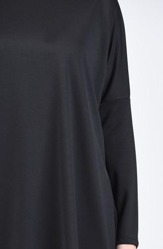 Yarasa Kol Mevsimlik Tunik 7955A-05 Siyah